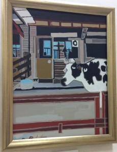 市川動物園の牛さん by鈴木伸明